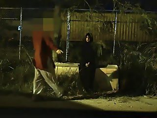 Arab chick hitches the best ride of her pussy life