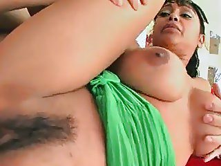 Busty Indian babe Priya Rai rides a rock solid cock