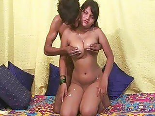 Indian slut getting her tits groped up by her rowdy bf