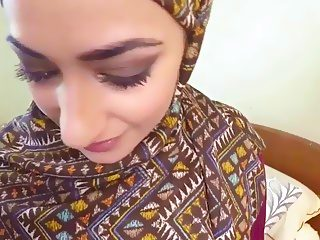 Sweet busty babe Lucia having a huge dick to fuck
