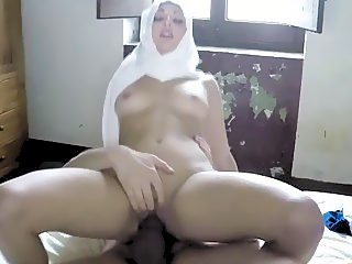 Spreading that Arab pussy and fucking it sideways